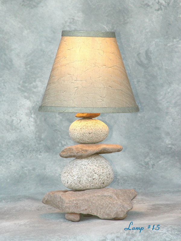 Lake Superior Rock Lamps About Our Stone Lamps
